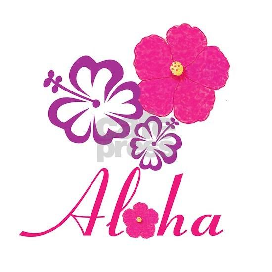 Pink Hibiscus Aloha