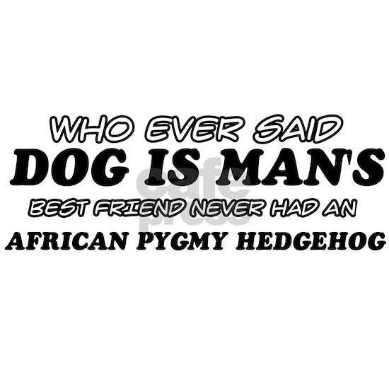 African pygmy hedgehog  pet Design
