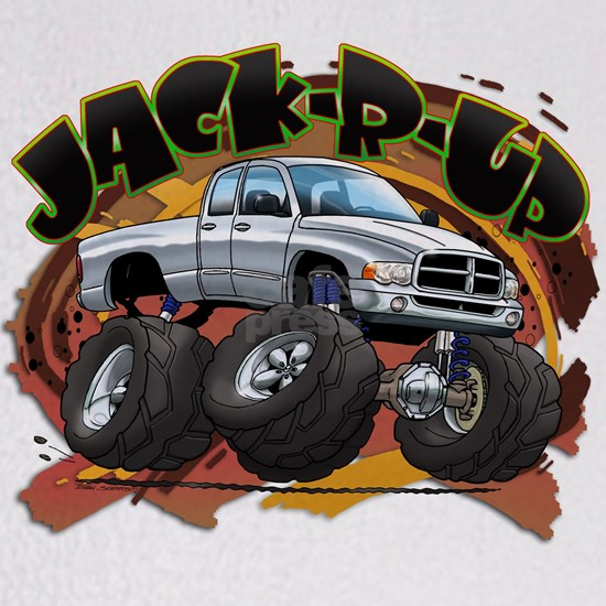 White Jack-R-Up Ram