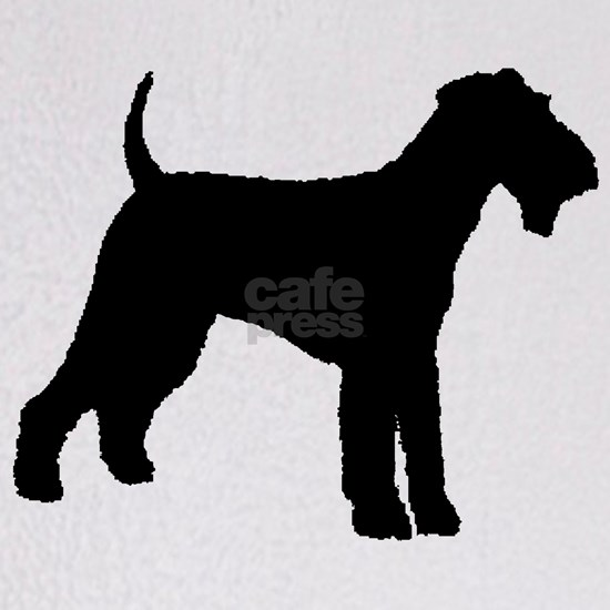 airedale terrier dog black
