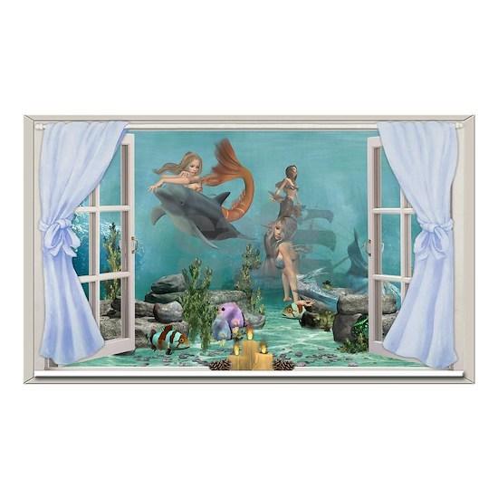Mermaids Blue