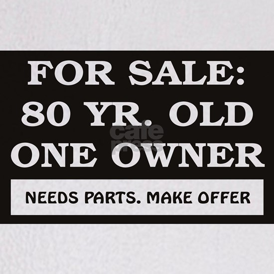 For Sale 80 year old Birthday