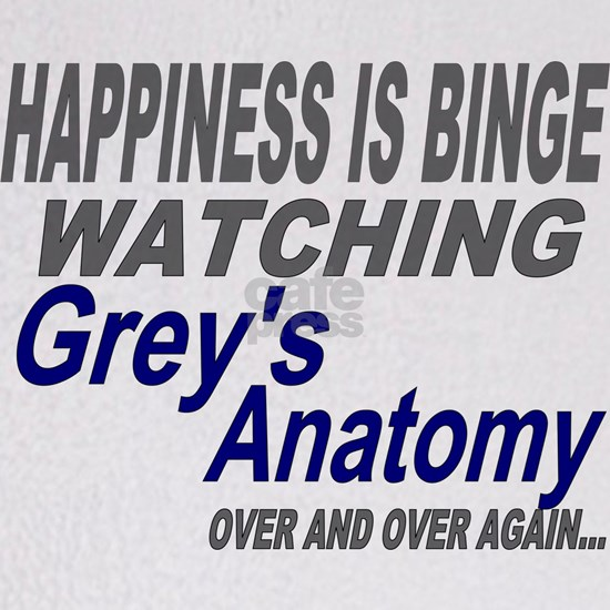 Happiness Is Watching Grey's Anatomy