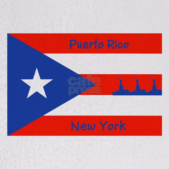 Puerto Rico New York Flag Lady Liberty 4Sophia