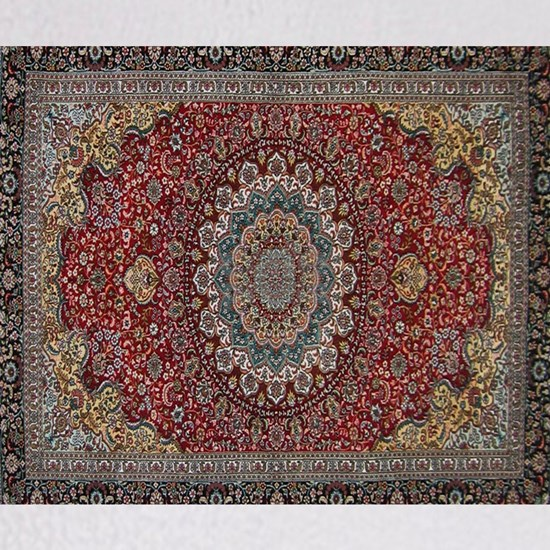 Persian Rug Red and Blue