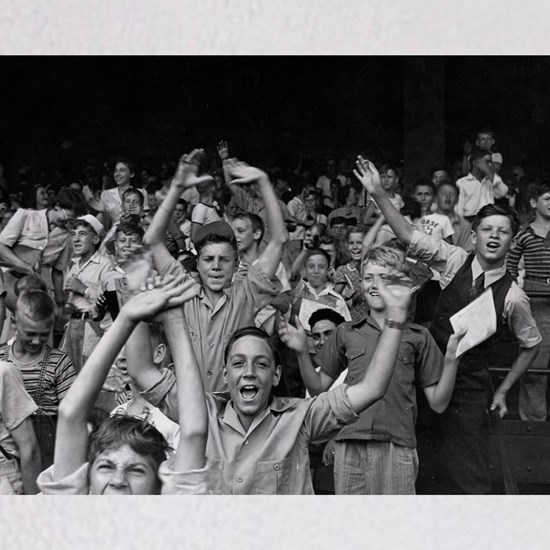 Kids at a Ball Game, 1942