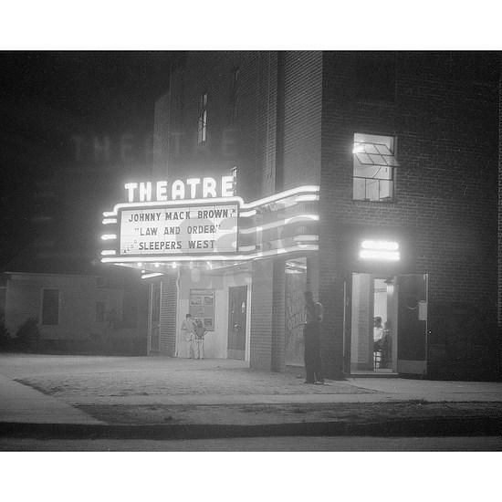Movie Theater at Night, 1941