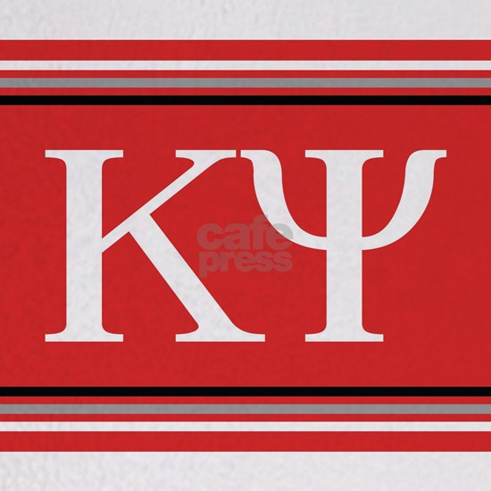 Kappa Psi Letters Blanket