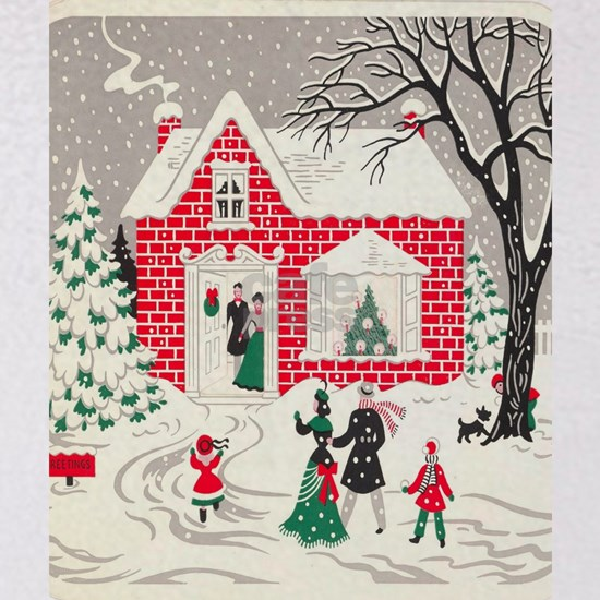 winter wonderland primitive Christmas