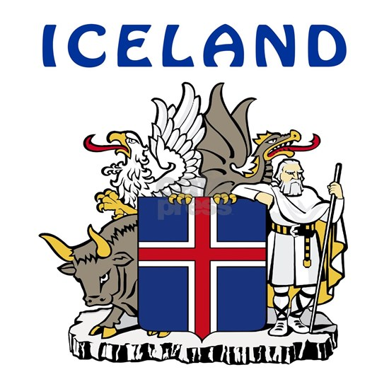 Iceland Coat Of Arms