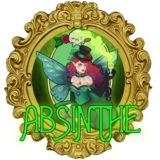 Absinthe Fairy Tile Coaster By Listing Store 113514644 Cafepress