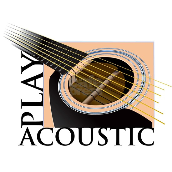 accoustic w text