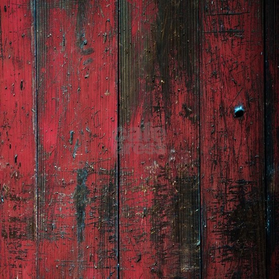 Country Rustic Red Distressed Barn Wood (Faux)