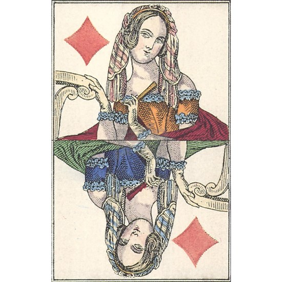 German Queen of Diamonds