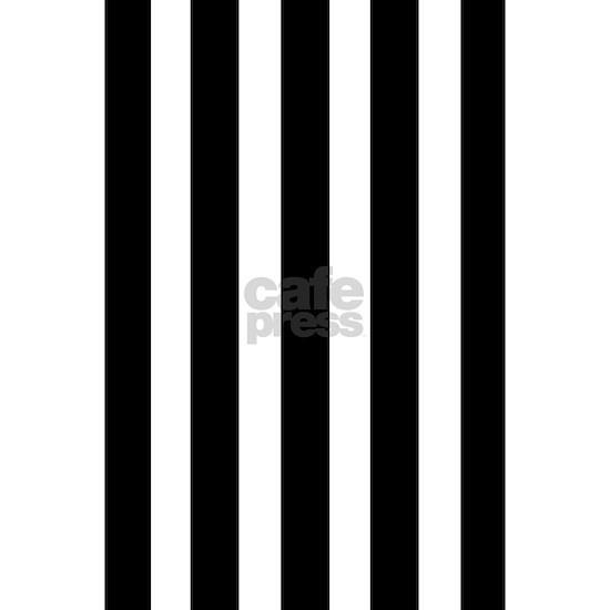 poster black and white stripes
