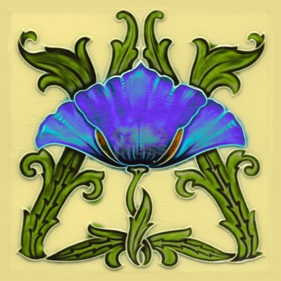 Large Petal Blue