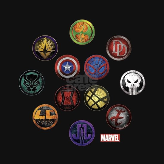 Marvel Grunge Icons