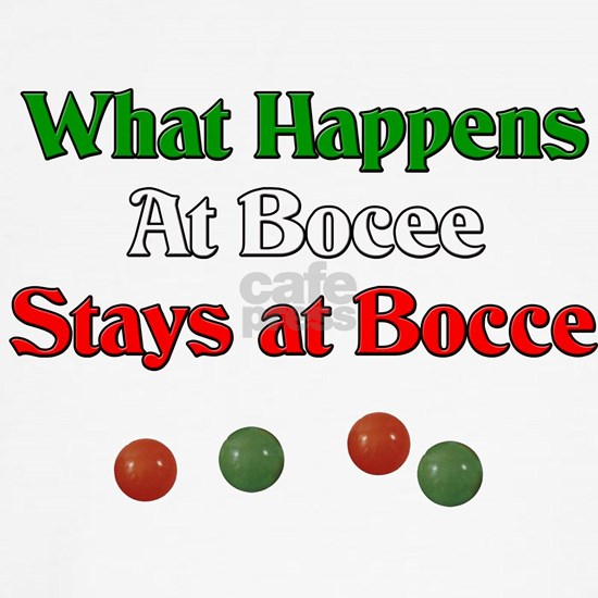 What happens at bocce stays at bocce