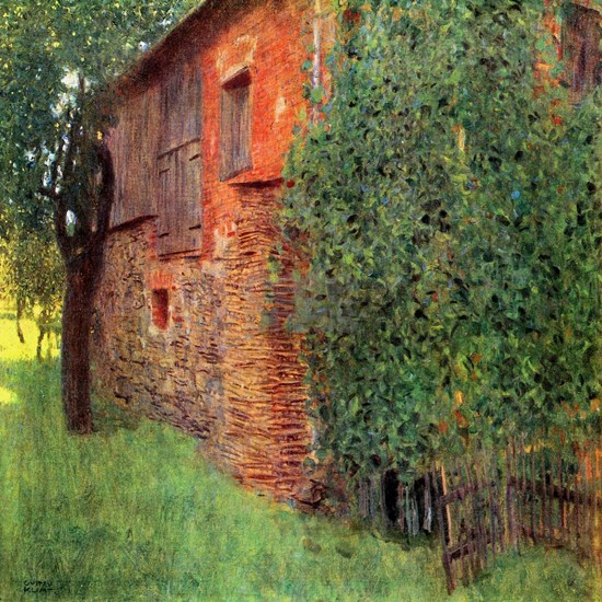 Klimt Farmhouse in Chamber in Attersee