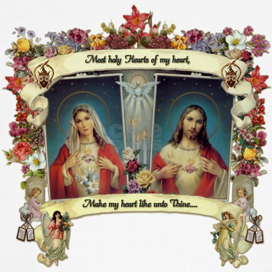 Sacred and Immaculate Hearts