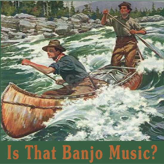 Banjo Music White Water