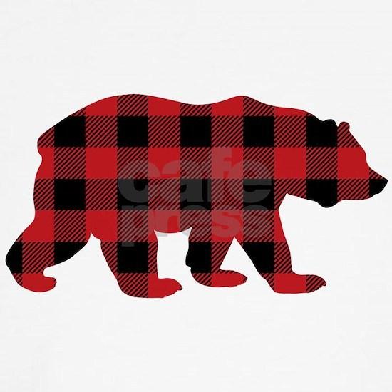 Buffalo Plaid Bear