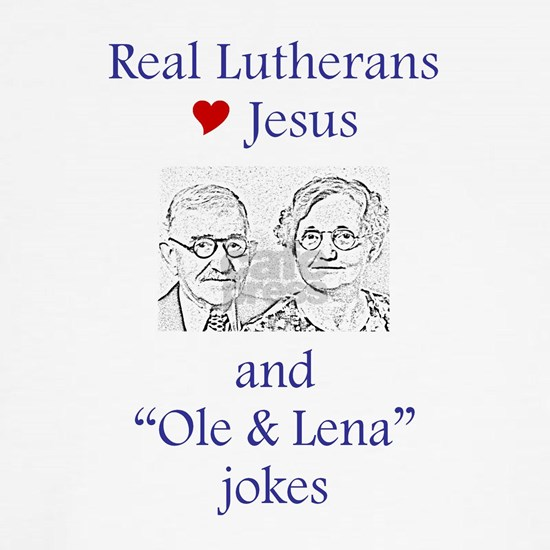 Jesus and Ole and Lena Tee