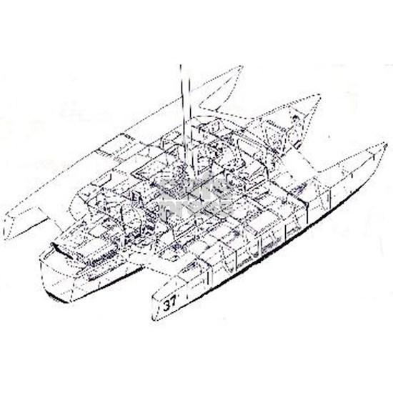 Searunner 37 ISO view Mousepad