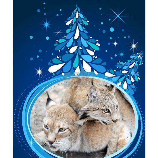 Christmas Card - Tobia and Duchess