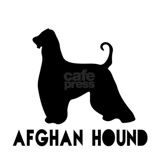 Afghan Hound Dog Designs