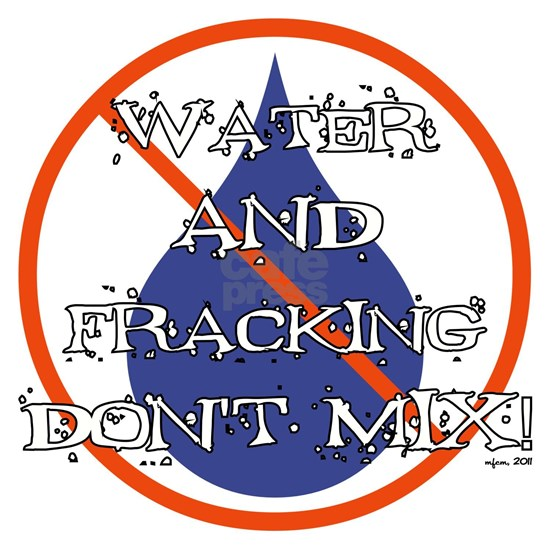 WATER AND FRACKING....
