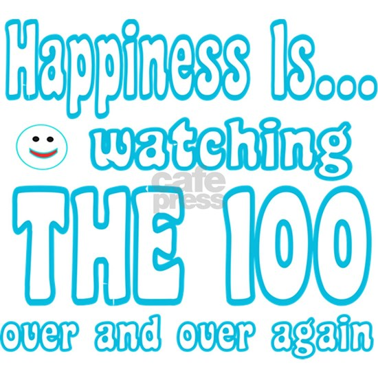 Happiness is watching 100
