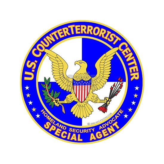 U.S. CounterTerrorist Center WHT-BLUE - 4 WHT