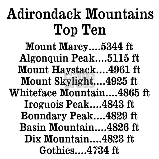 ADK Top Ten