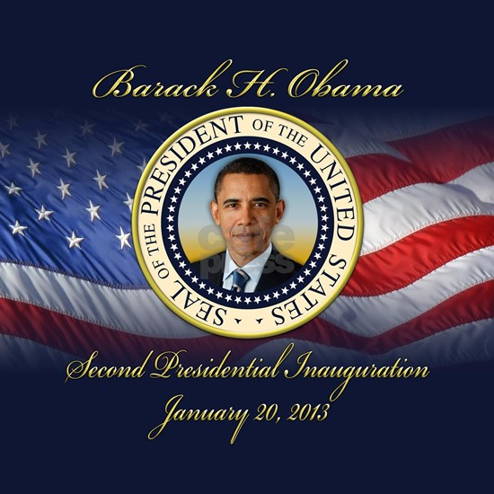 US Flag, Seal, Second Inauguration