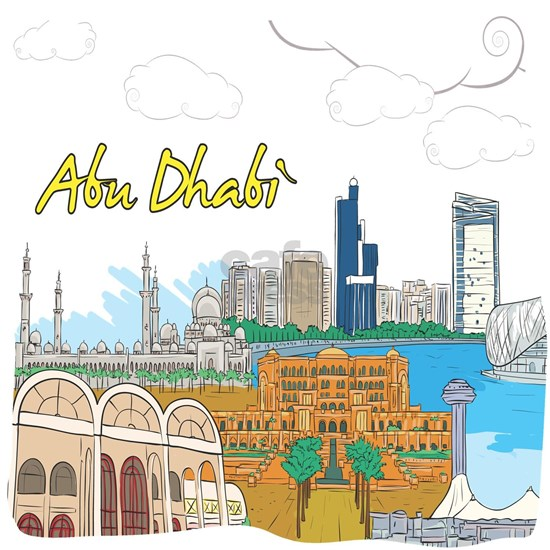 Abu Dhabi in the United Arab Emirates