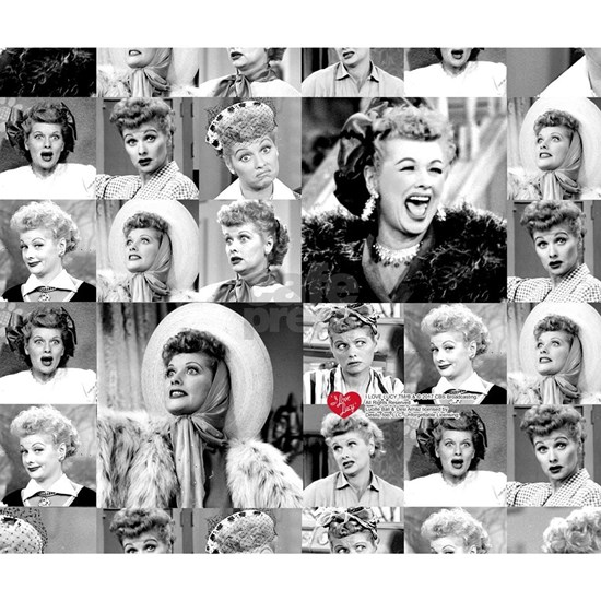 I Love Lucy Collage
