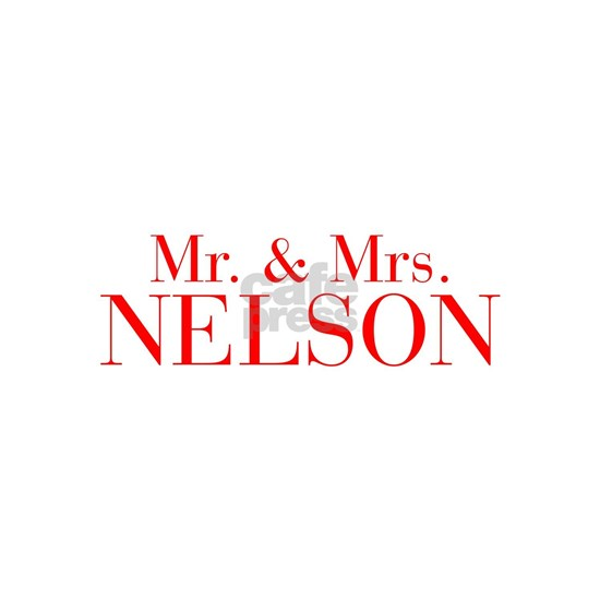 Mr Mrs NELSON-bod red