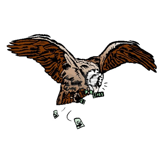 Eagle With Money