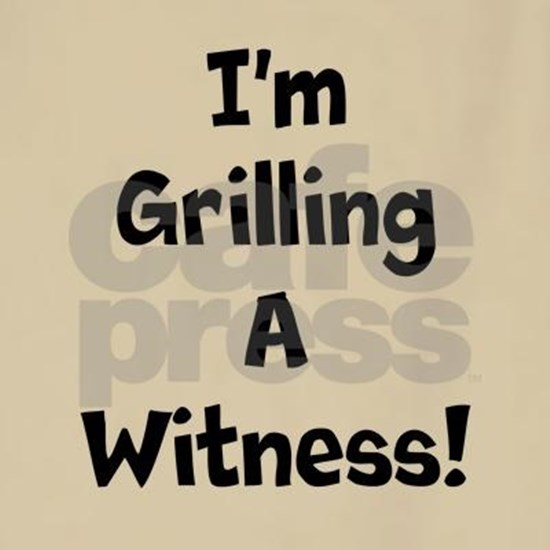 Grilling A Witness !