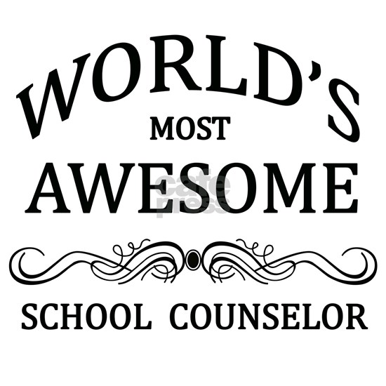 World's Most Awesome School Counselor Apron by World's