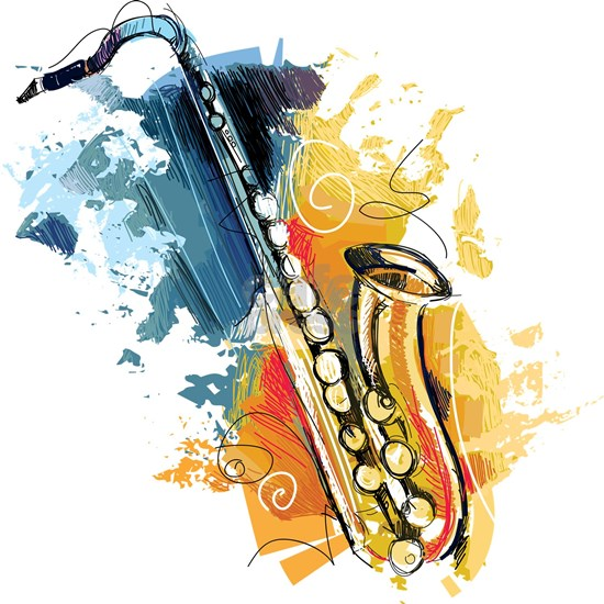 Saxophone Painting