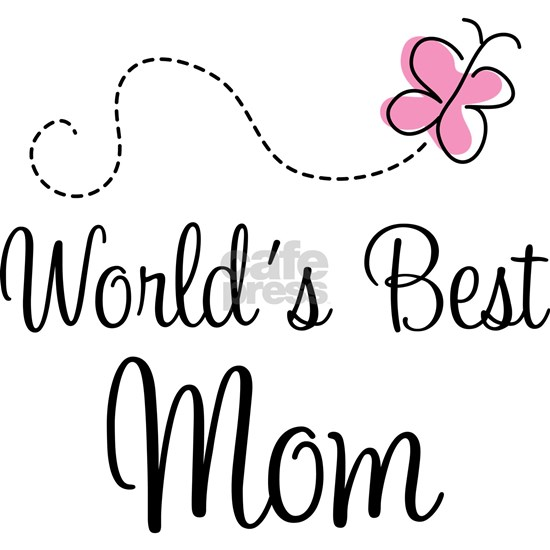worlds best mom pink butter 2010
