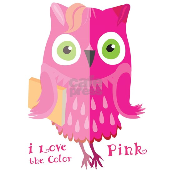 I love the color. Pink owl.