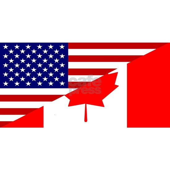 Canadian-American Flag
