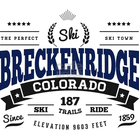Breckenridge Vintage Blue Black