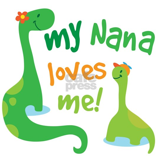 Nana Loves Me Grandson Dinosaur