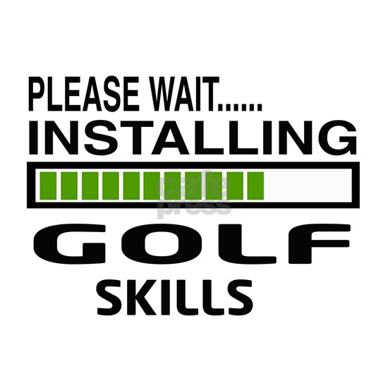 Please wait, Installing Golf Skills