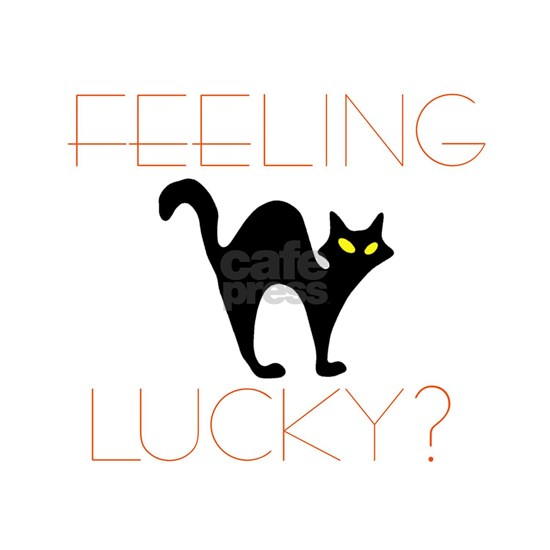Feeling Lucky Black Cat