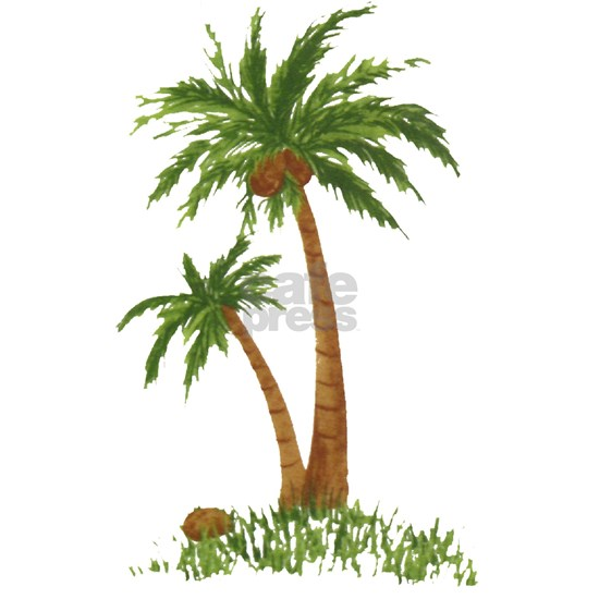 Twin Palm Tree